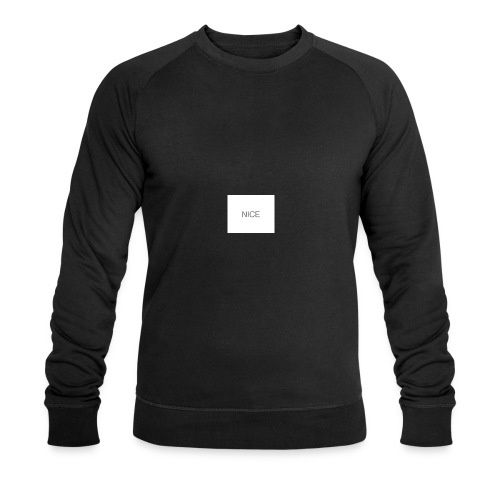 nice - Männer Bio-Sweatshirt