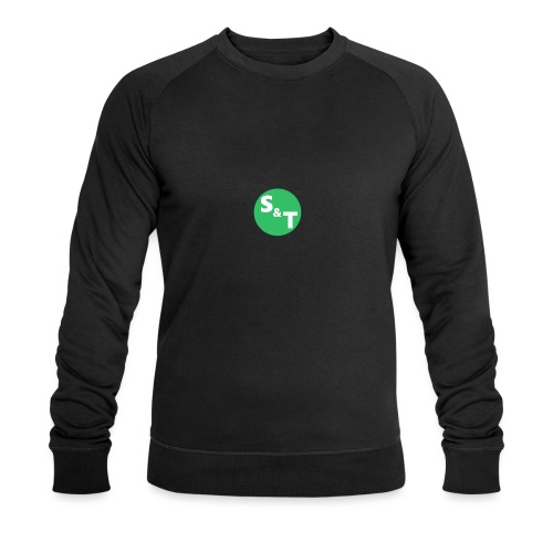 ST Main Logo - Men's Organic Sweatshirt by Stanley & Stella