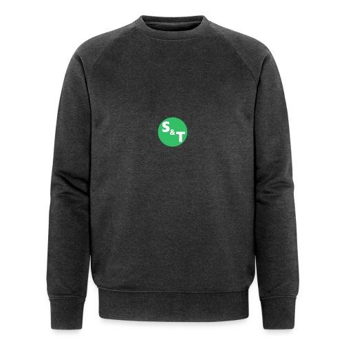 ST Main Logo - Men's Organic Sweatshirt by Stanley & Stella