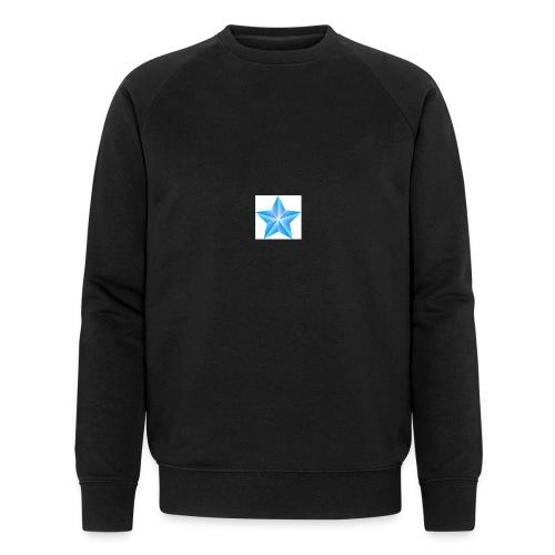 blue themed christmas star 0515 1012 0322 4634 SMU - Men's Organic Sweatshirt by Stanley & Stella