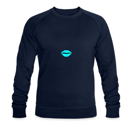 Blue kiss - Men's Organic Sweatshirt by Stanley & Stella
