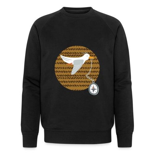 Freche Möwe stiehlt Kompass und fliegt davon - Männer Bio-Sweatshirt von Stanley & Stella