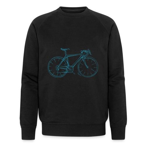 Rennrad Herren Fahrrad Skizze Radsport - Männer Bio-Sweatshirt von Stanley & Stella