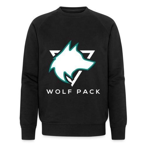 Wolf Pack Logo (NEW) - Men's Organic Sweatshirt by Stanley & Stella