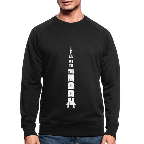 Fly me to the moon - Mannen bio sweatshirt