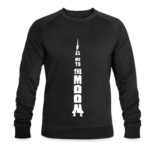 Fly me to the moon - Mannen bio sweatshirt van Stanley & Stella
