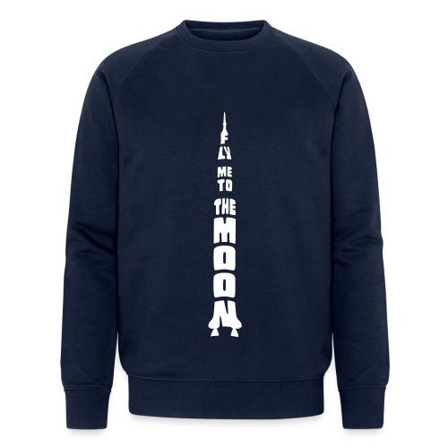 Fly me to the moon - Mannen bio sweatshirt van Stanley & Stella
