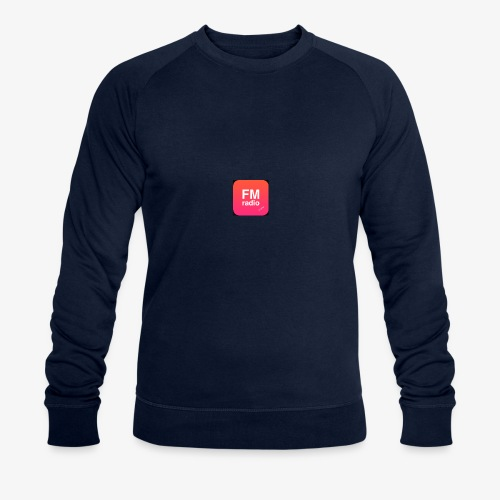 logo radiofm93 - Mannen bio sweatshirt van Stanley & Stella