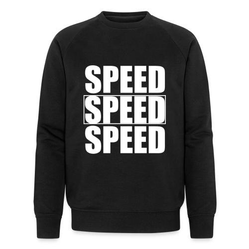 SPEED Mens MOTORSPORT Hoodie and Tee - Men's Organic Sweatshirt by Stanley & Stella