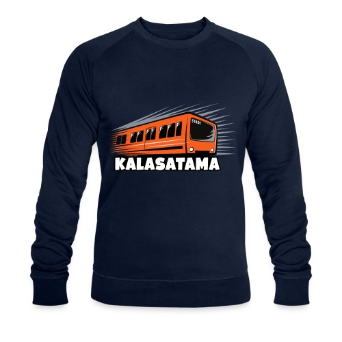 11- METRO KALASATAMA - HELSINKI - LAHJATUOTTEET - Stanley & Stellan miesten luomucollegepaita