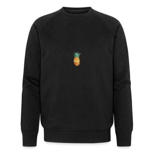 pinety logo print - Økologisk Stanley & Stella sweatshirt til herrer