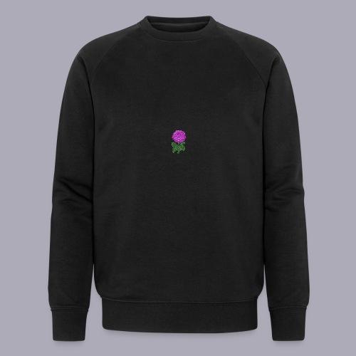 Landryn Design - Pink rose - Men's Organic Sweatshirt by Stanley & Stella