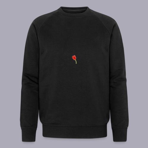 Tulip Logo Design - Men's Organic Sweatshirt