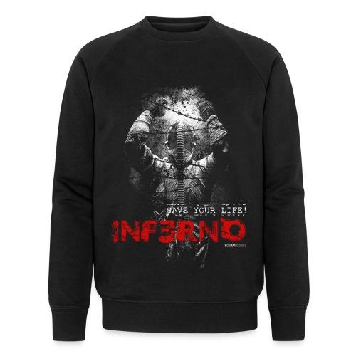 INFERNO | SAVE YOUR LIFE - Männer Bio-Sweatshirt