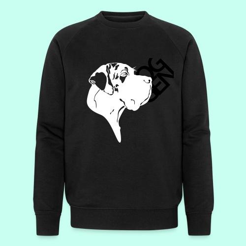 Gefleckter Doggenkopf komplex - Männer Bio-Sweatshirt von Stanley & Stella