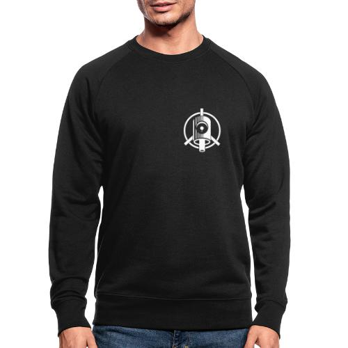 Peace Family Graffiti - Männer Bio-Sweatshirt