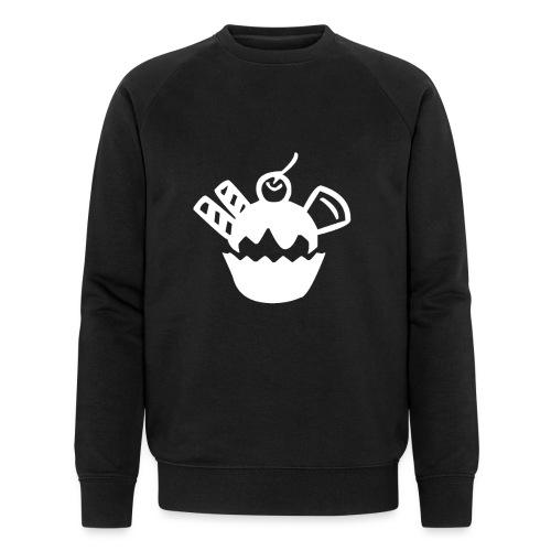 Eis und Eiscreme Symbol - Männer Bio-Sweatshirt von Stanley & Stella