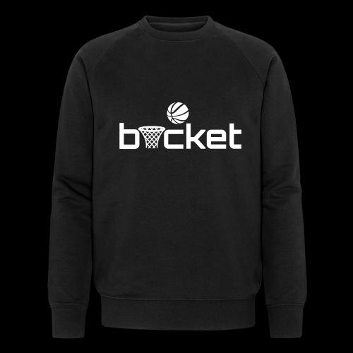 bucket white png - Men's Organic Sweatshirt
