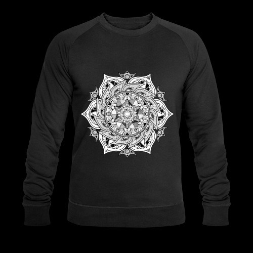 Mandala - Felpa ecologica da uomo