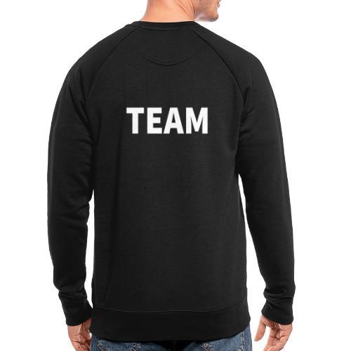 Welcome Team Sortiment - Männer Bio-Sweatshirt