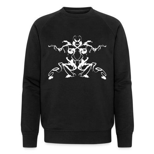 Rorschach test of a Shaolin figure Tigerstyle - Men's Organic Sweatshirt by Stanley & Stella
