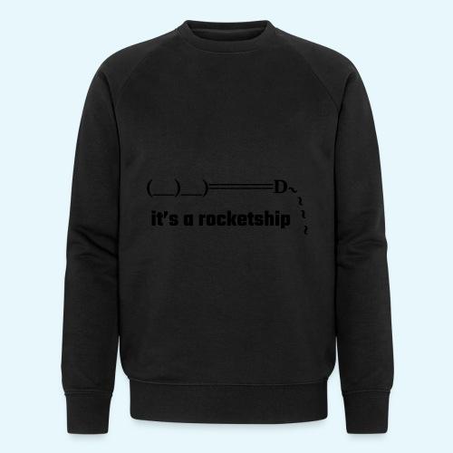 Rocket - Ekologisk sweatshirt herr från Stanley & Stella