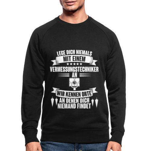 Vermessungstechniker Geodäsie Geomatiker Vermesser - Männer Bio-Sweatshirt
