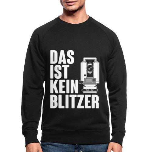 Vermessungstechniker Theodoloit Blitzer Geomatiker - Männer Bio-Sweatshirt