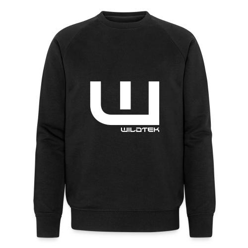 Wildtek Logo White - Men's Organic Sweatshirt by Stanley & Stella