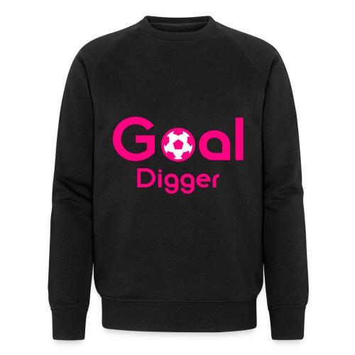 Goal Digger Pink - Men's Organic Sweatshirt by Stanley & Stella