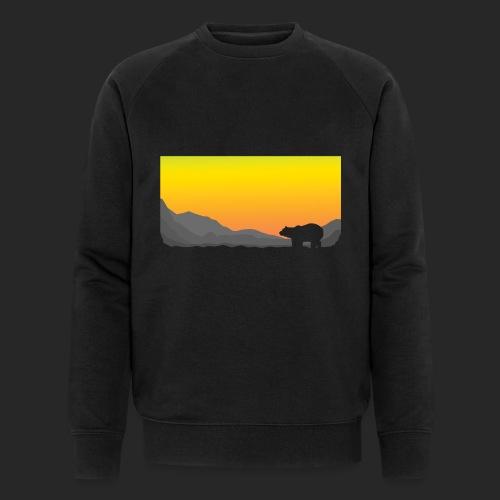 Sunrise Polar Bear - Men's Organic Sweatshirt by Stanley & Stella