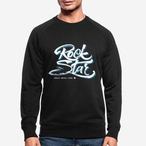 Heavy Metal - Männer Bio-Sweatshirt