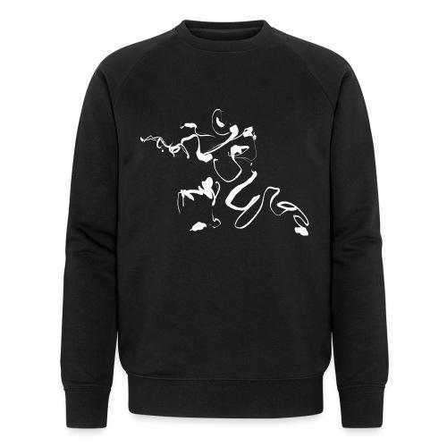 Kungfu - Deepstance Kung-fu figure - Men's Organic Sweatshirt by Stanley & Stella