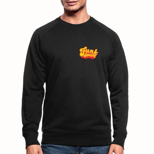 Funkdown Official Merchandise (dobbelt logo) - Økologisk sweatshirt til herrer