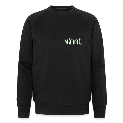 viart_logo_vect_2coul - Männer Bio-Sweatshirt von Stanley & Stella