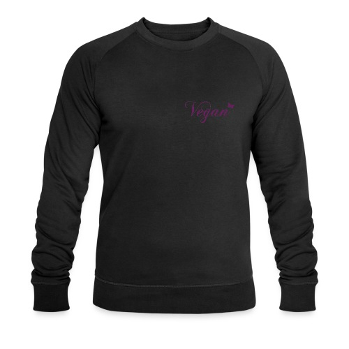 Vegan - Schmetterling - Männer Bio-Sweatshirt von Stanley & Stella