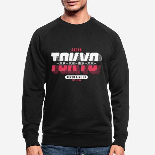 tokyo japan vintage - Männer Bio-Sweatshirt