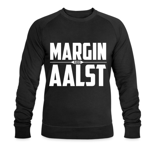 MARGINAALST wit - Mannen bio sweatshirt van Stanley & Stella