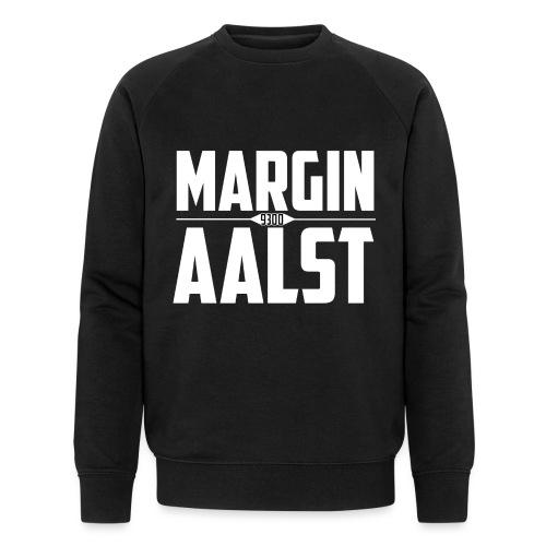 MARGINAALST wit - Mannen bio sweatshirt