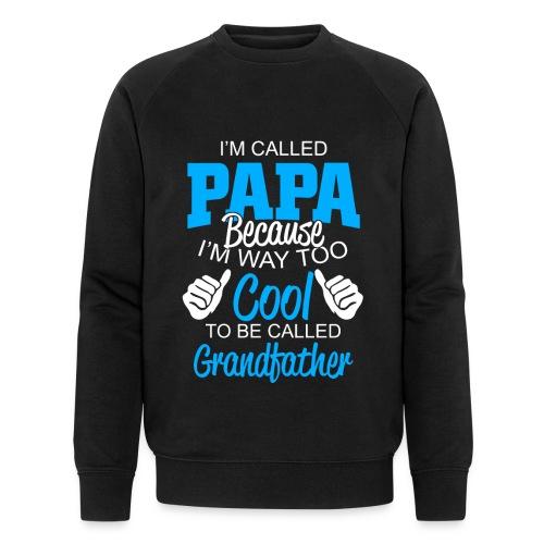 01 im called papa copy - Sweat-shirt bio Stanley & Stella Homme