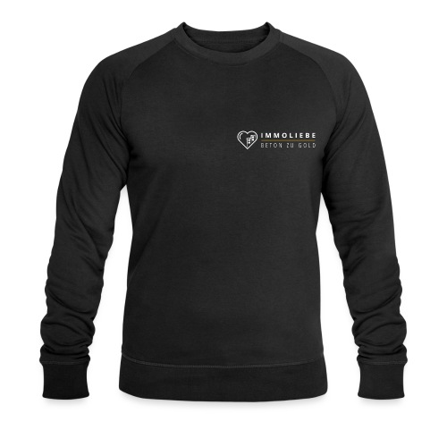 Beton zu Gold mit Immoliebe 💛 - Männer Bio-Sweatshirt von Stanley & Stella