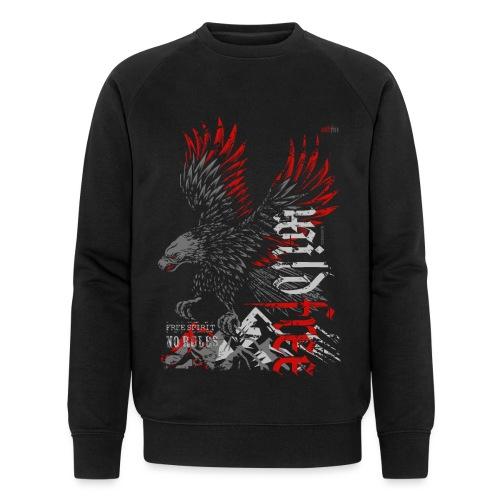 WILDFREE | EAGLE - Männer Bio-Sweatshirt