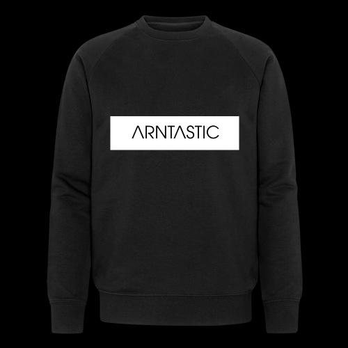 ARNTASTIC balken weiss - Männer Bio-Sweatshirt von Stanley & Stella