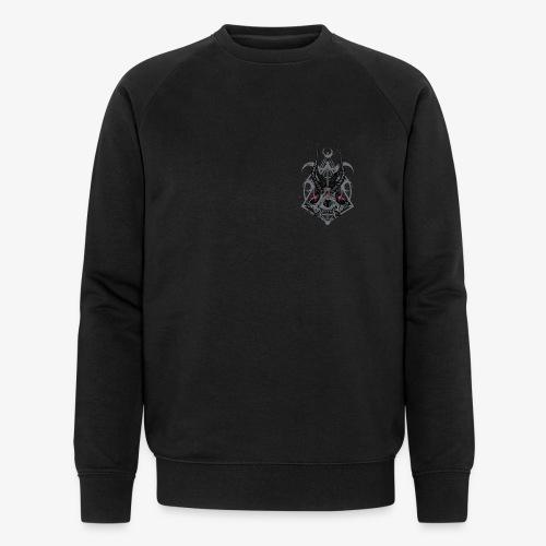 Fox Skull Demonlord - wh Logo - Männer Bio-Sweatshirt von Stanley & Stella