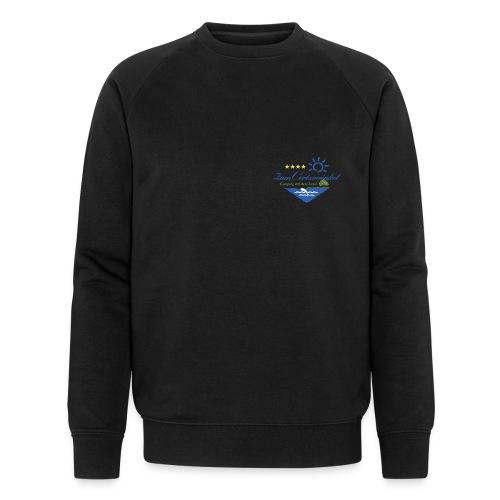 Camping macht Laune - Männer Bio-Sweatshirt