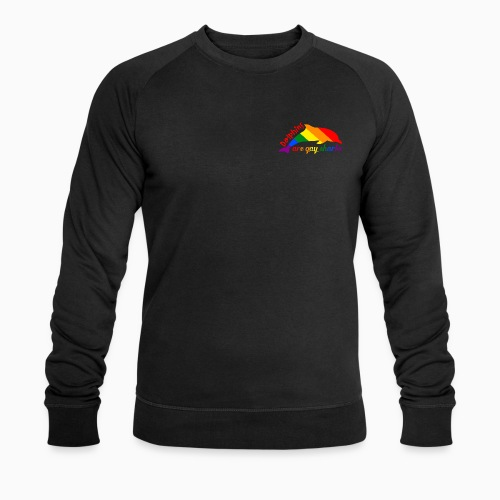 Dolphins are gay sharks! - Men's Organic Sweatshirt by Stanley & Stella