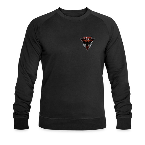 isfa logo abzeichen1 - Männer Bio-Sweatshirt von Stanley & Stella