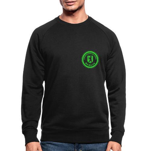 Logo klein ESU transp Green - Männer Bio-Sweatshirt