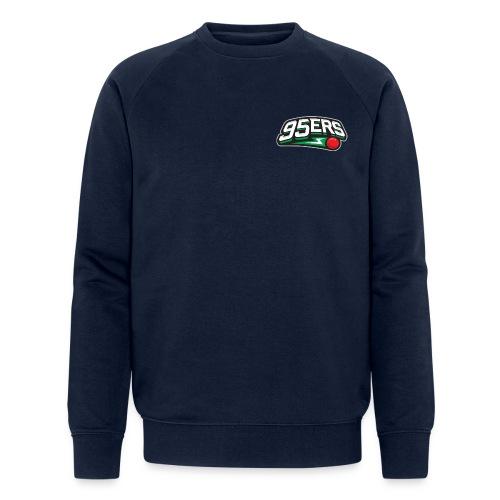 95ers Logo - Männer Bio-Sweatshirt