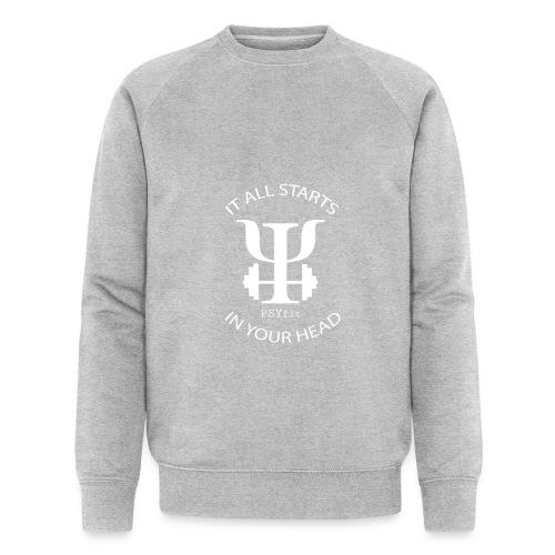 PSYfit Logo Tee - Men's Organic Sweatshirt